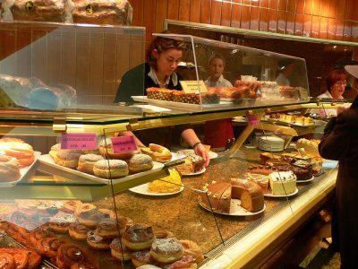 Cake shop in Munich, Germany