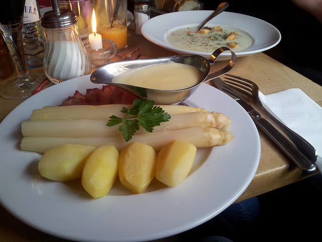 White Asparagus in Germany
