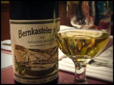 German Riesling Wine