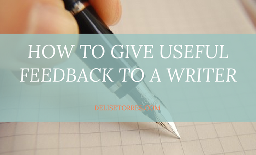 How to Give Useful Feedback to a Writer Post Image