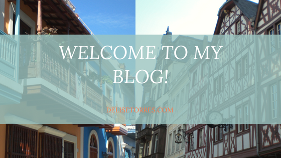 Welcome to my Blog Post Image