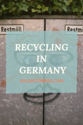How to Survive in Germany Part 5: Recycling